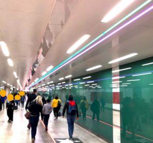 ウィーンの地下道