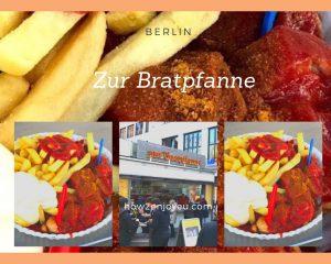 ベルリンでカリーヴルストを地元の名店で地元民のように食べてみよう