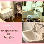 Airbnbで選んだボローニャの民泊アパート、広くて可愛いお部屋には最先端のキッチンまで揃ってる!