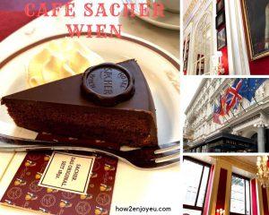 優雅にザッハトルテを食べるなら、ホテル・ザッハーのCafé Sacher Wien、一択!