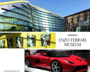 モデナ、エンツォ・フェラーリ・ミュージアム、クルマ好きじゃなくてもオススメのスポット!