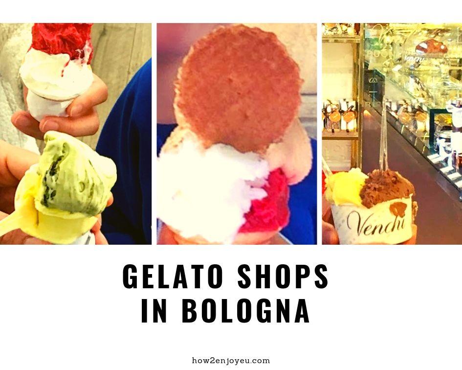 食べ比べ、ボローニャで一番美味しいジェラートのお店はどこ?
