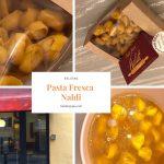 ボローニャ、人気のパスタ店「Pasta Fresca Naldi」のトルッテリーニ