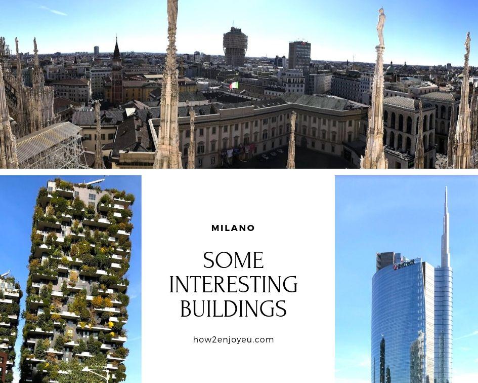 ミラノ、ドゥオーモの屋上から見える気になる建物を見に行こう