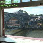 ポルトの民泊アパート、窓から『魔女の宅急便』みたいな風景が広がる【Airbnb】