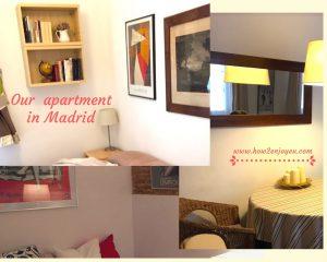マドリードの民泊アパート、マイナス評価はあったけど