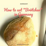 朝食時、ドイツ人だったら丸いパンをほぼ100%こう食べる!