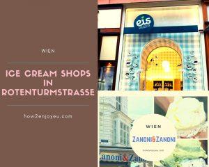 ウィーン、2つの有名アイスクリーム屋さんを食べ比べ!