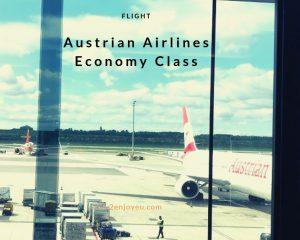 オーストリア航空、エコノミー・クラス利用の感想