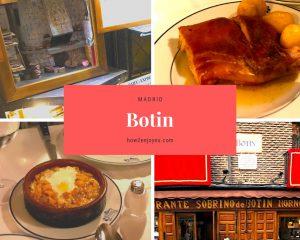 世界最古のレストラン、マドリード「Botin」、ネット予約がダメな時は電話すべし!