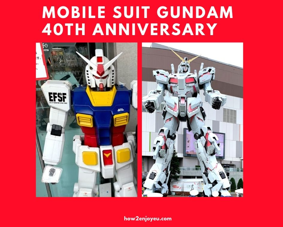 Read more about the article ガンダム40周年に親子でガンダムにハマる