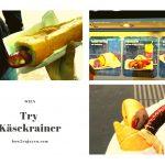 ウィーン観光中、小腹を満たすなら、Käsekrainerが最適!