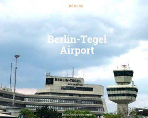 ベルリン、テーゲル空港を利用予定なら、ちょっと気をつけよう