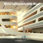 建築ファンにオススメ、ウィーン、【Wirtschaftsuniversität Wien】のキャンパスの近未来空間