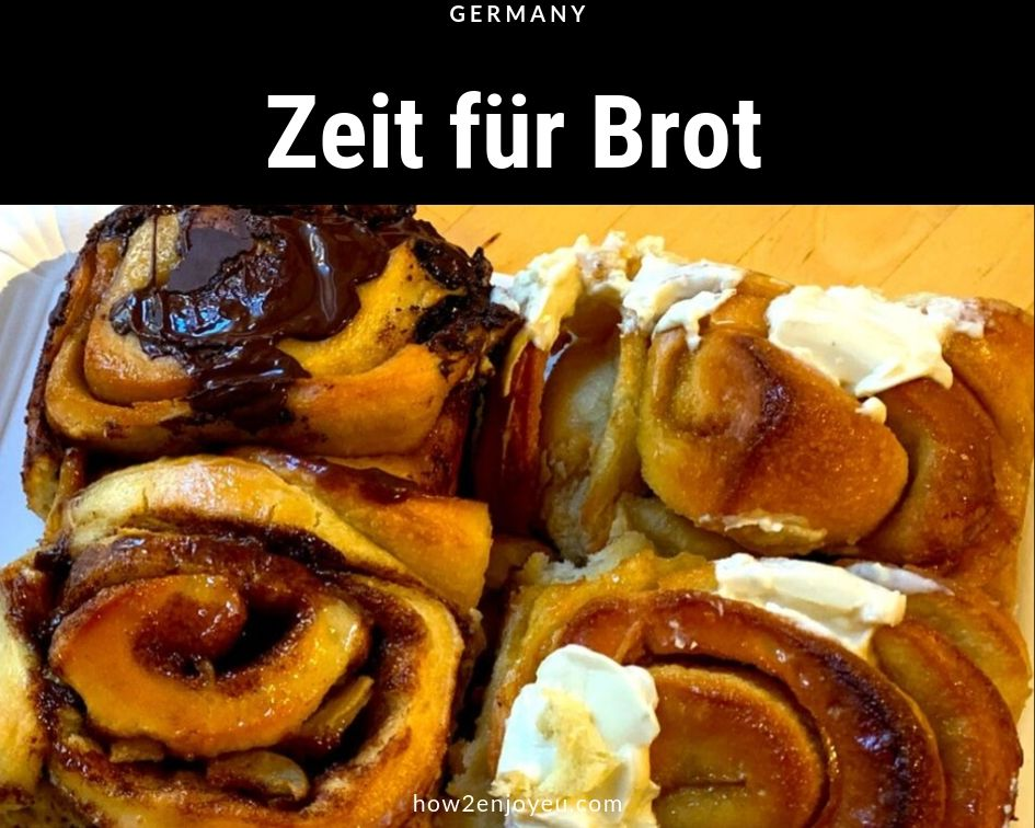 Read more about the article 美味しいシナモンロールをドイツで食べるなら、「Zeit für Brot」