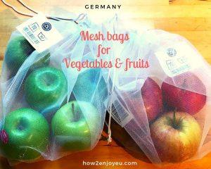 スーパーの薄手ビニール袋が無くなる日が来る?その日に備えて量り売りの野菜&果物用、メッシュ袋、ついに購入!