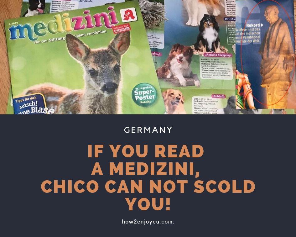 チコちゃんに叱られない、ドイツの子供?雑学知識は薬局でタダでもらえる