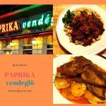 ブダペストの人気レストラン「Paprika Vendéglő」は絶対に予約すべし