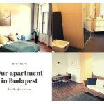 ブダペストの一等地、民泊アパートのお部屋がスタイリッシュで完璧だった