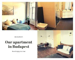 ブダペストの一等地、民泊アパートのお部屋がスタイリッシュな上に完璧だった