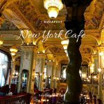 世界一美しいカフェ、ブダペストのNew York Cafeで朝食を食べた
