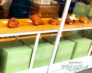ブダペストで一番美味しいクロワッサンFREYJA、滞在中5回通い、ほぼ全種類制覇!