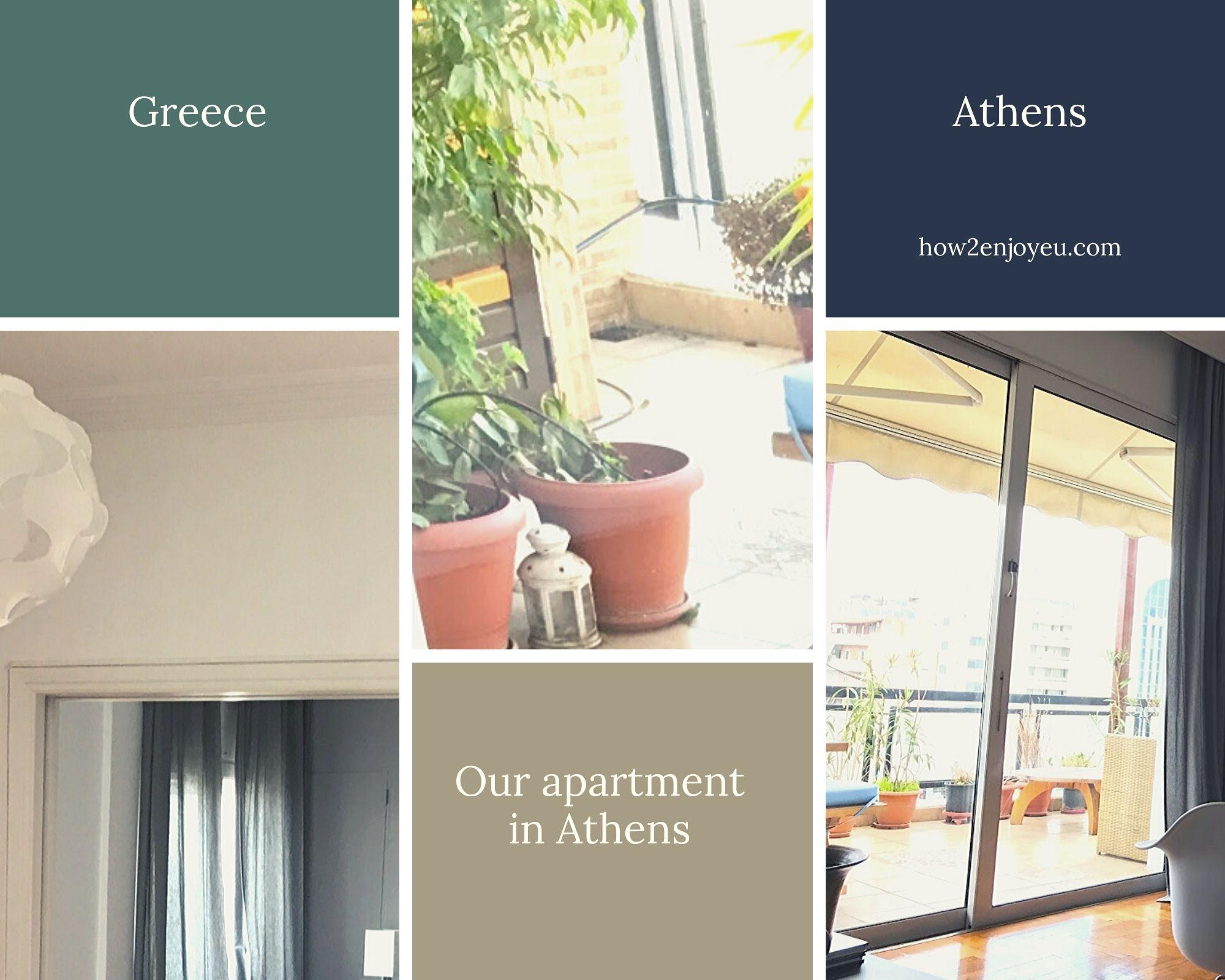 アテネらしい景色が見える民泊アパート、他にもいろいろポイントが高かった