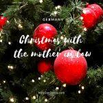 クリスマスだよ、義実家訪問・・・。