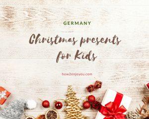 ドイツでは子供は2度、クリスマス・プレゼントをもらう・・・