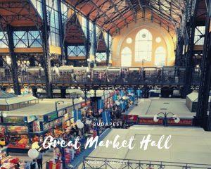 楽しみにしていたブダペスト中央市場、だったけど・・・