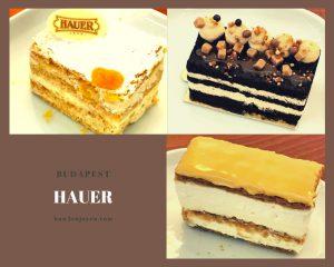 ブダペストの老舗カフェ「Hauer」、帝国時代の雰囲気を感じさせる老舗カフェ