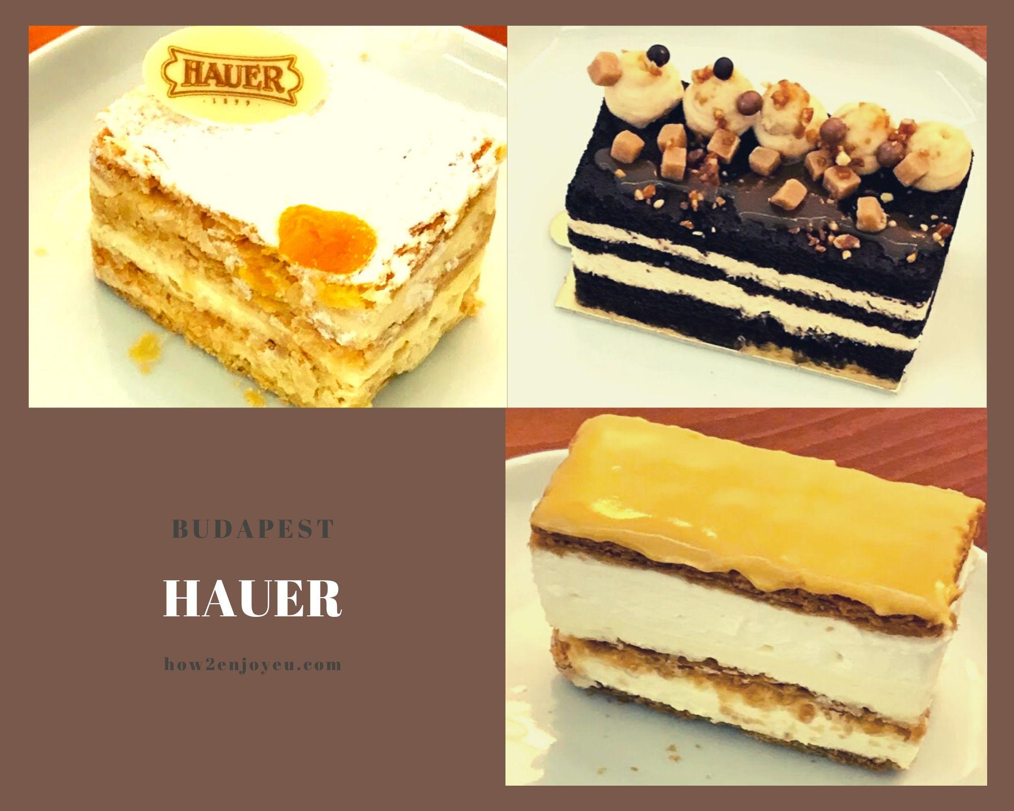 ブダペストの老舗カフェ「Hauer」で帝国時代の雰囲気を感じる