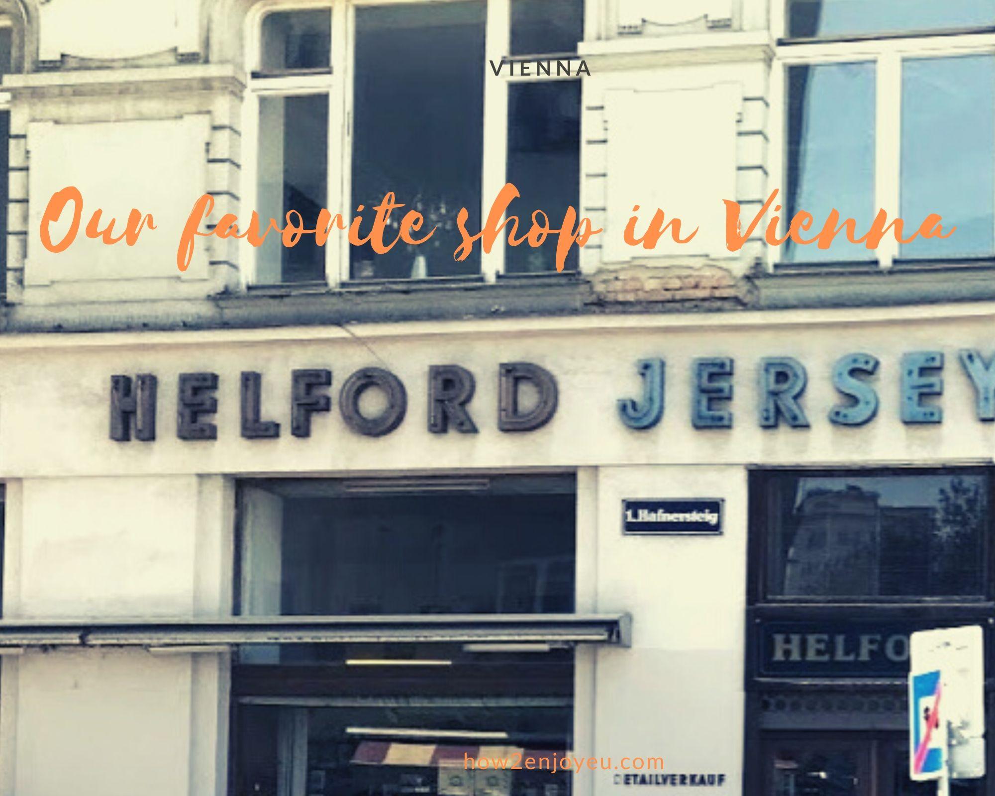 ウィーン、Helford Jerseyは車好きな大人が集まる趣味のお店