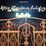 クリスマス前、激混みのドイツのデパート、クリスマス後も実は混んでいる・・・