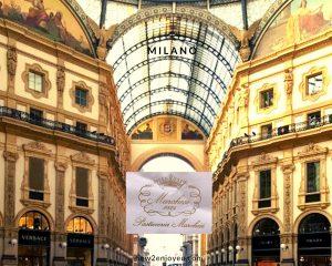 ミラノの老舗パティスリー、マルケージはあの大ヒット小説「冷静と情熱のあいだ」にも出てくる