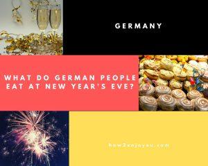 大晦日、ドイツ人は何、食べる?