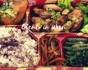 ウィーンで食べた和食デリ「TAYA」のお弁当、野菜たっぷりで癒された〜