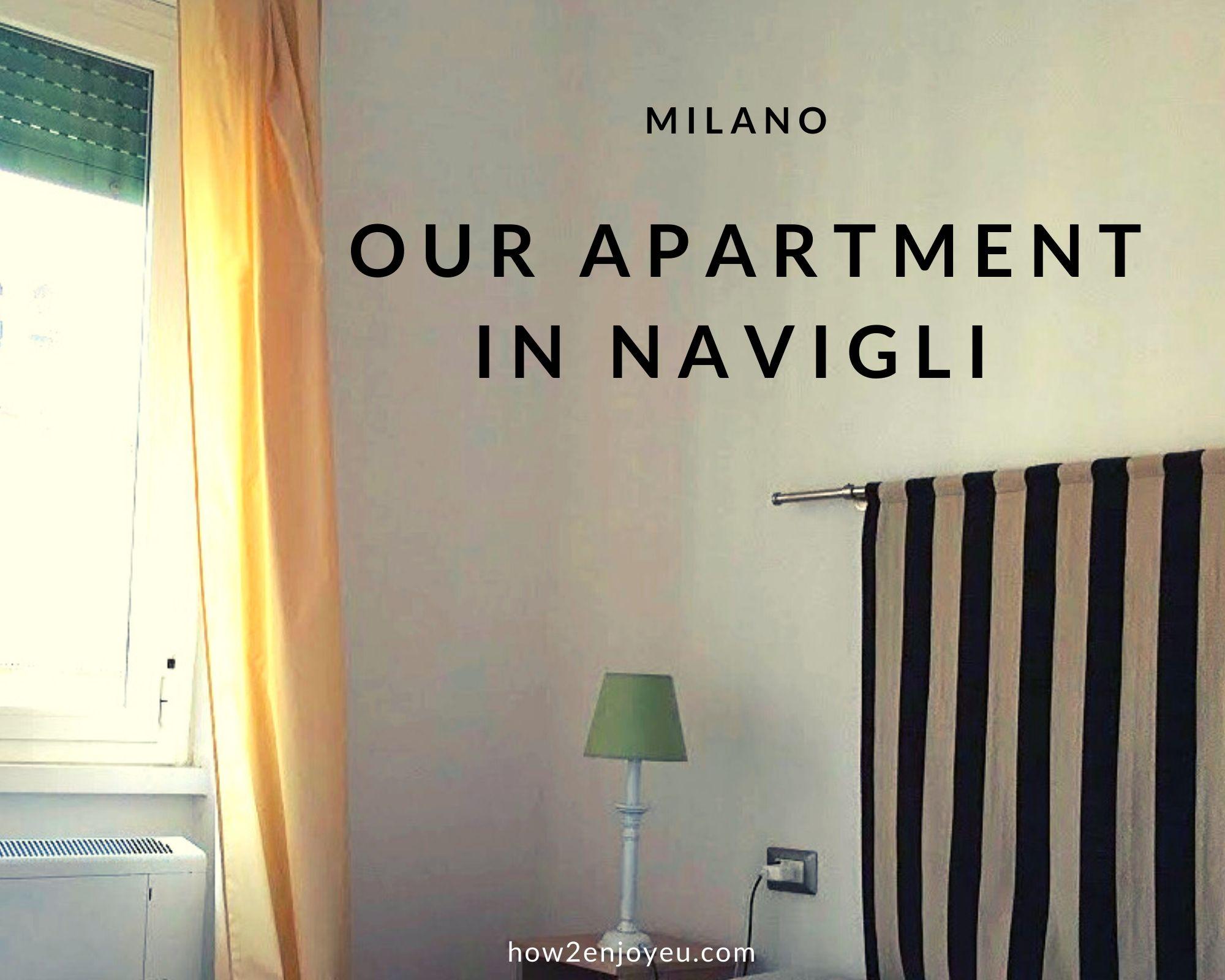 ミラノの民泊アパートメント、ナヴィリオ地区の使い勝手のいい可愛いお部屋