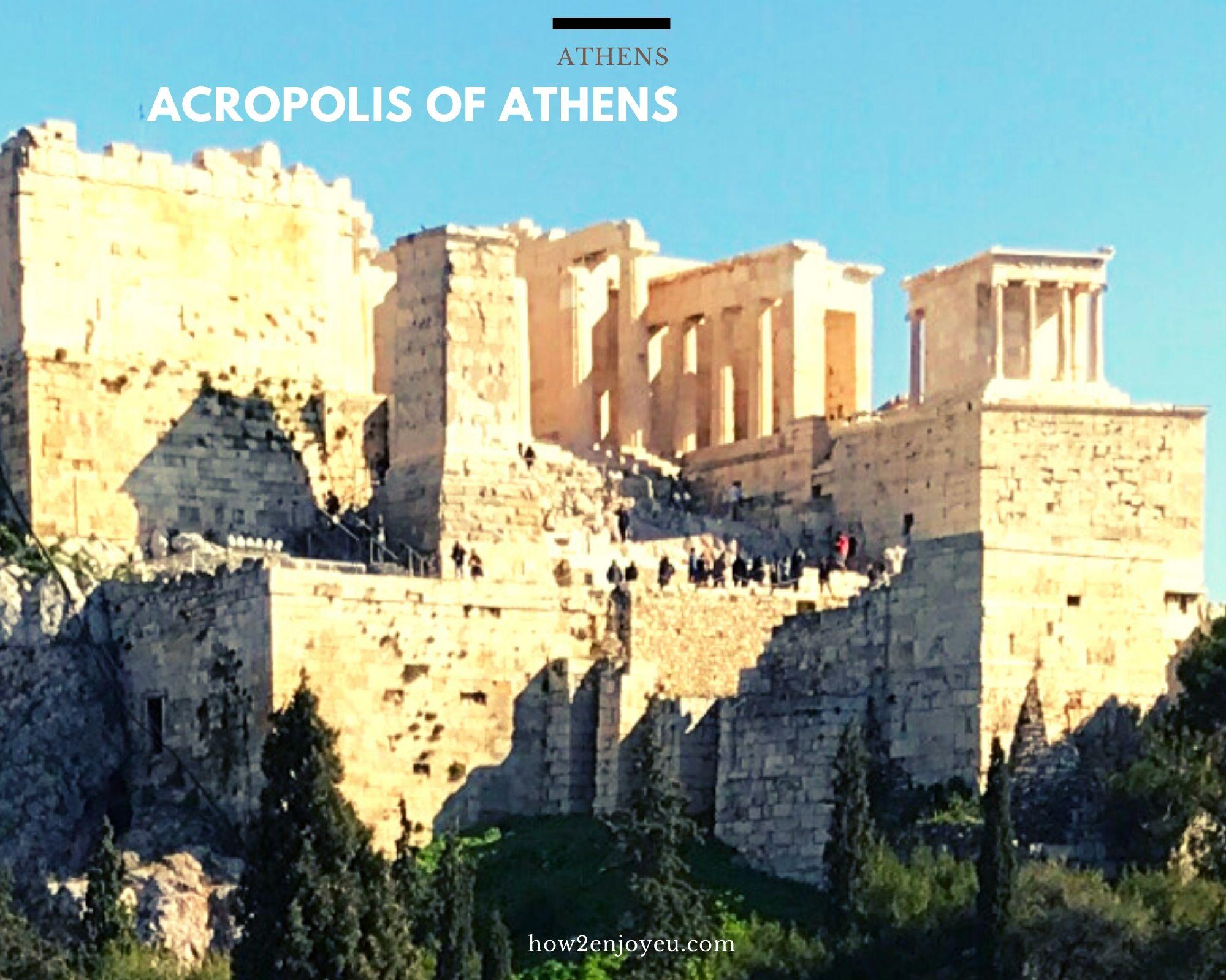 アテネ、アクロポリスを観るなら、混んでなくて安い冬場がオススメ?!