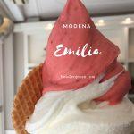 モデナの可愛いジェラート屋さん、Emilia Cremeria