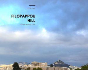 アテネ、フィロパポスの丘でギリシャ神話みたいな写真が撮れた!