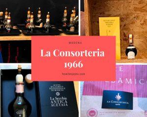 モデナ、高級バルサミコ酢の専門店、La Consorteria 1966
