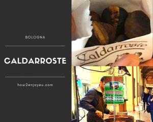 秋から冬のイタリア、焼き栗のスタンド「Caldarroste」を絶対に試すべき!