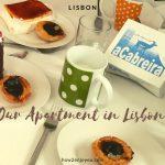 Airbnbを初めて利用、リスボンの民泊アパートメント