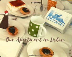 【Airbnb】を初めて利用、リスボンの民泊アパートメント