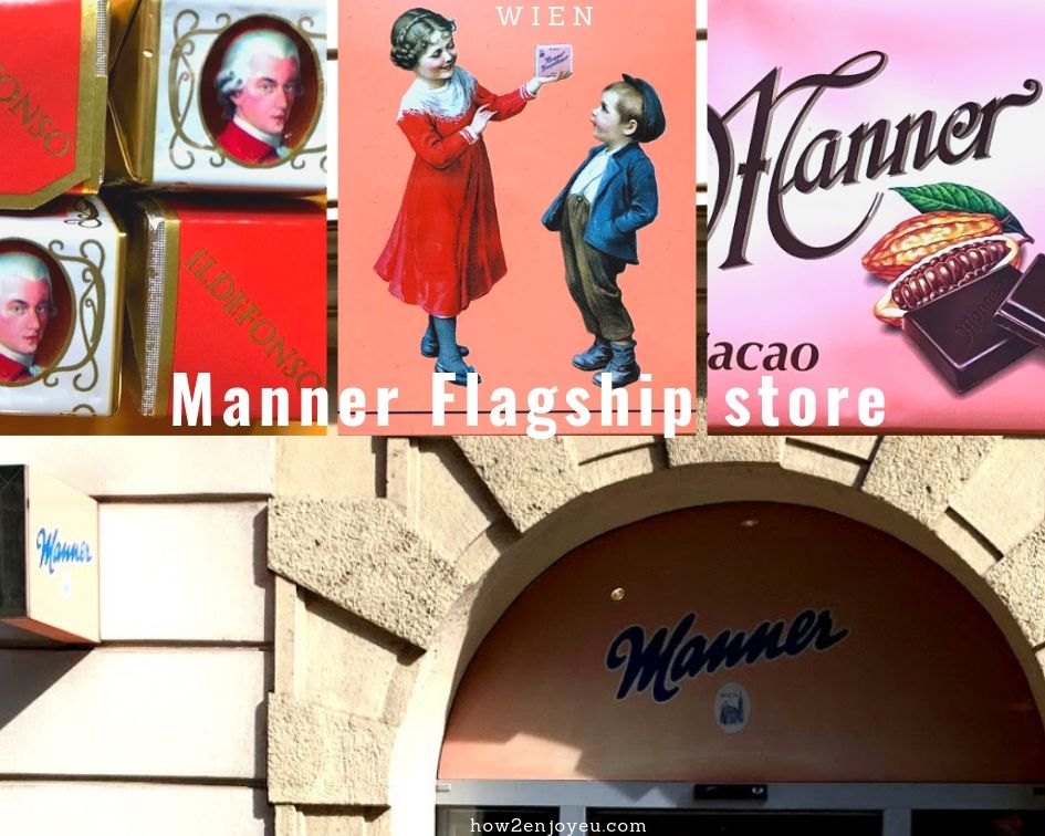 Read more about the article ウィーン、シュテファン大聖堂のそば、【Manner】のフラッグシップ・ストア