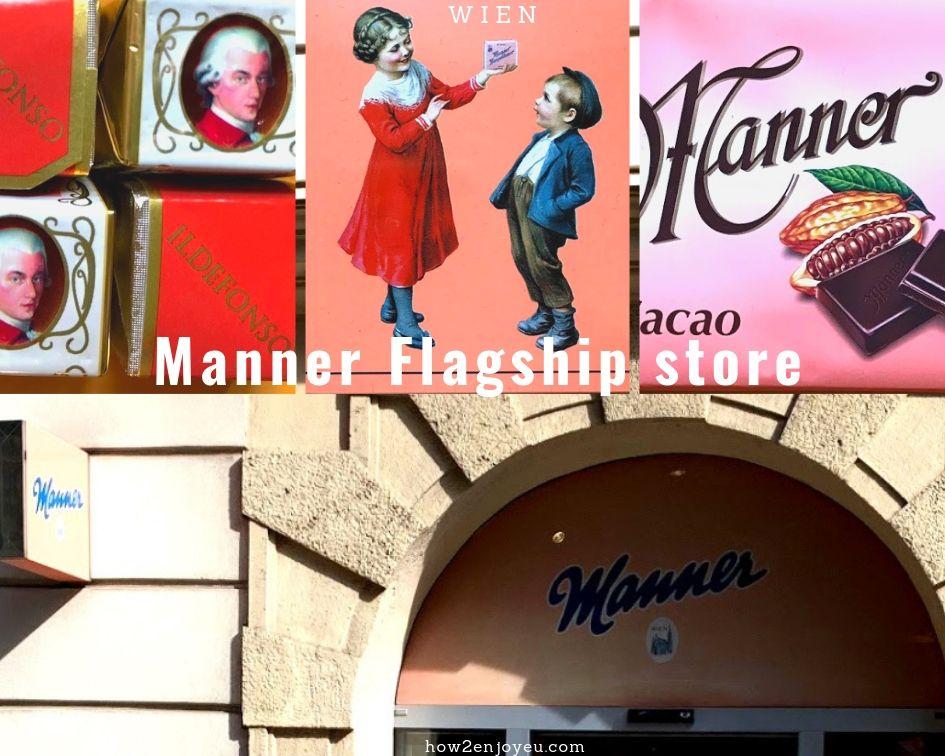 ウィーン、シュテファン大聖堂の側にあるMannerのお店で買うべきモノは?
