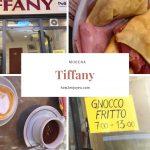 モデナの名物朝食、ニョッコ・フリットを食べに「Tiffany」へ
