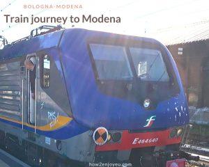 電車でボローニャからモデナへ、ボローニャ駅で危うくボラれそうに・・・