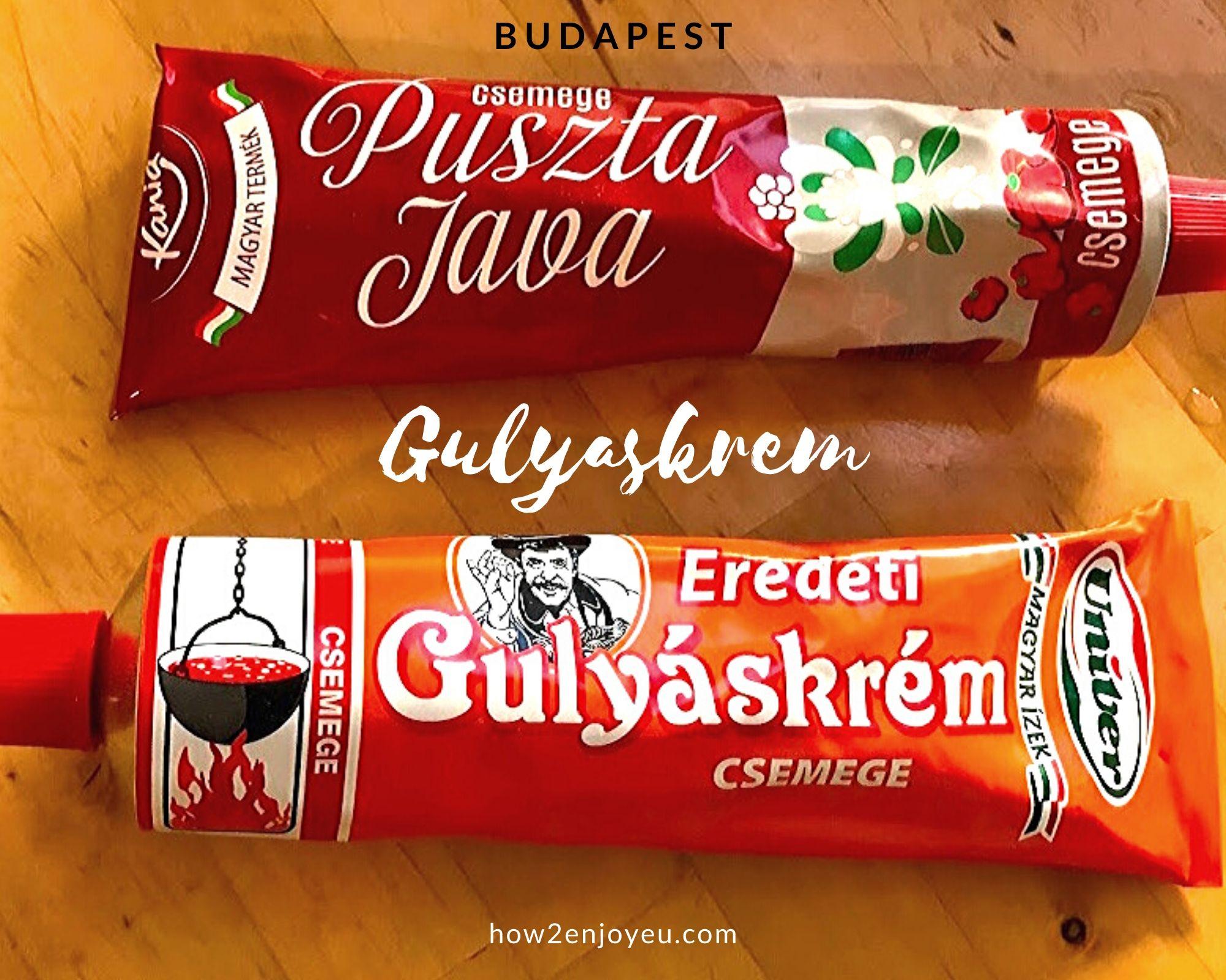 超お手頃価格のブダペスト土産、自宅で本格的なグヤーシュが子供でも作れた!